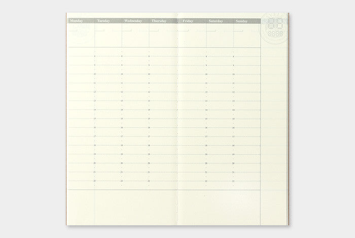 TRAVELER'S Company 018 Weekly Appointment Planner