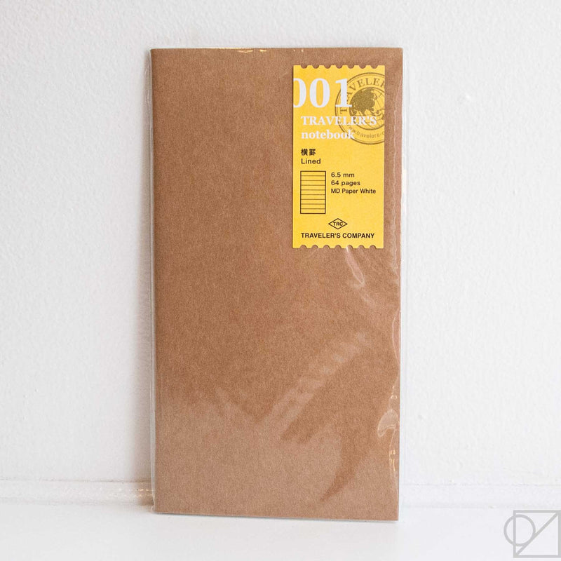 Midori Traveler's Note: 001 Lined Notebook Refill