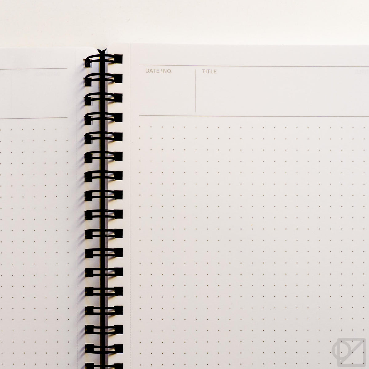 Mnemosyne Dot Grid Spiral Notebooks