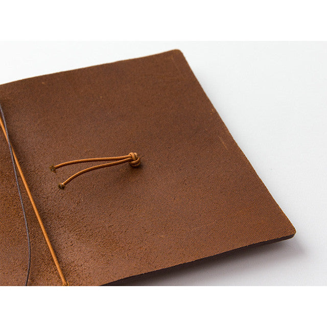 TRAVELER'S Company Passport Leather Journal Starter Kit Camel
