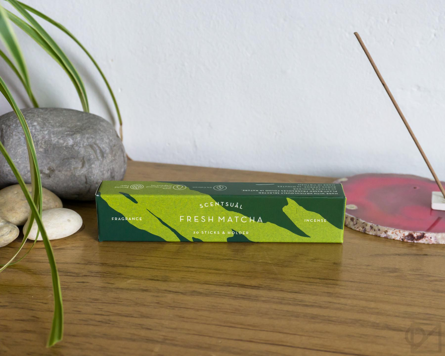 Scentsual Incense Fresh Green Tea