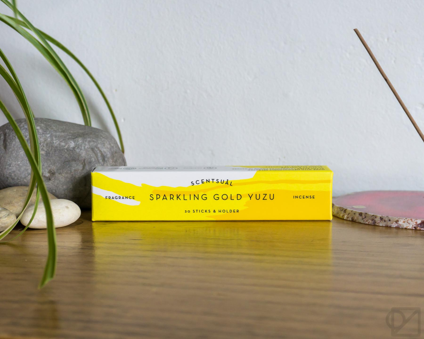 Scentsual Incense Sparkling Gold Yuzu