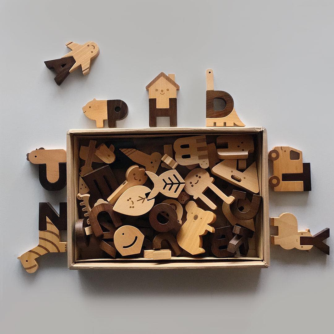 Alphabet Play Blocks
