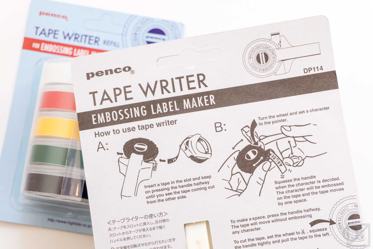 PENCO Embossing Label Maker