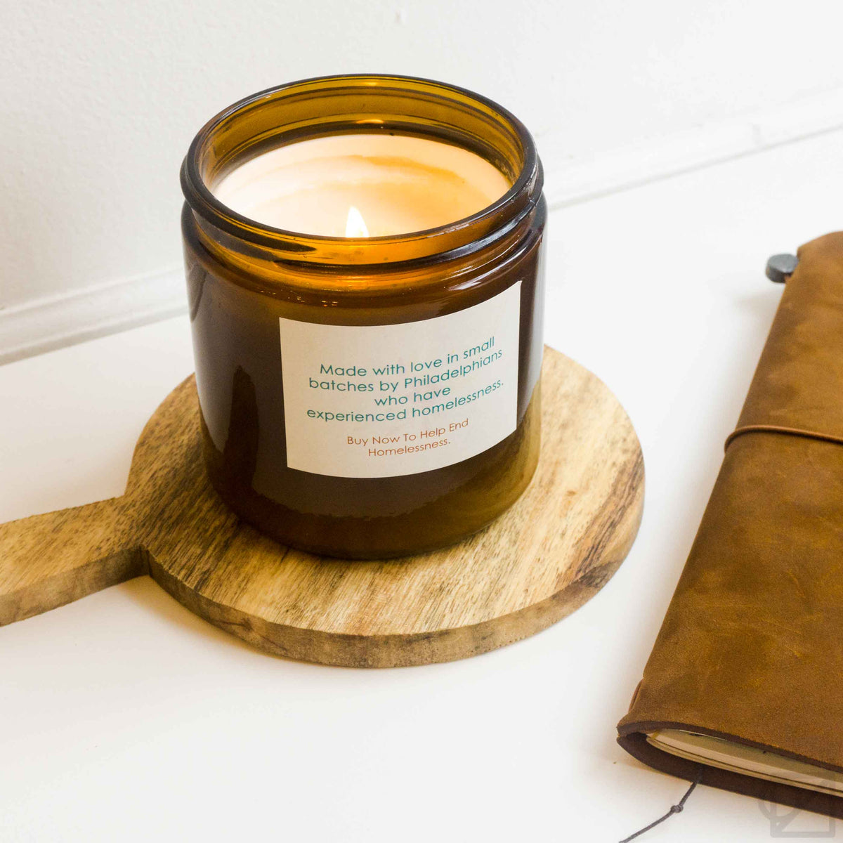 Project HOME Frankincense & Myrrh Candle