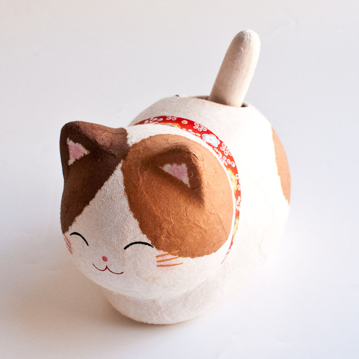 Kyoto Washi Solar Cat Good Luck Calico