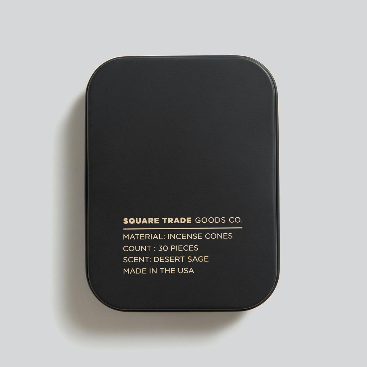 Square Trade Goods Co. Incense Cones Desert Sage