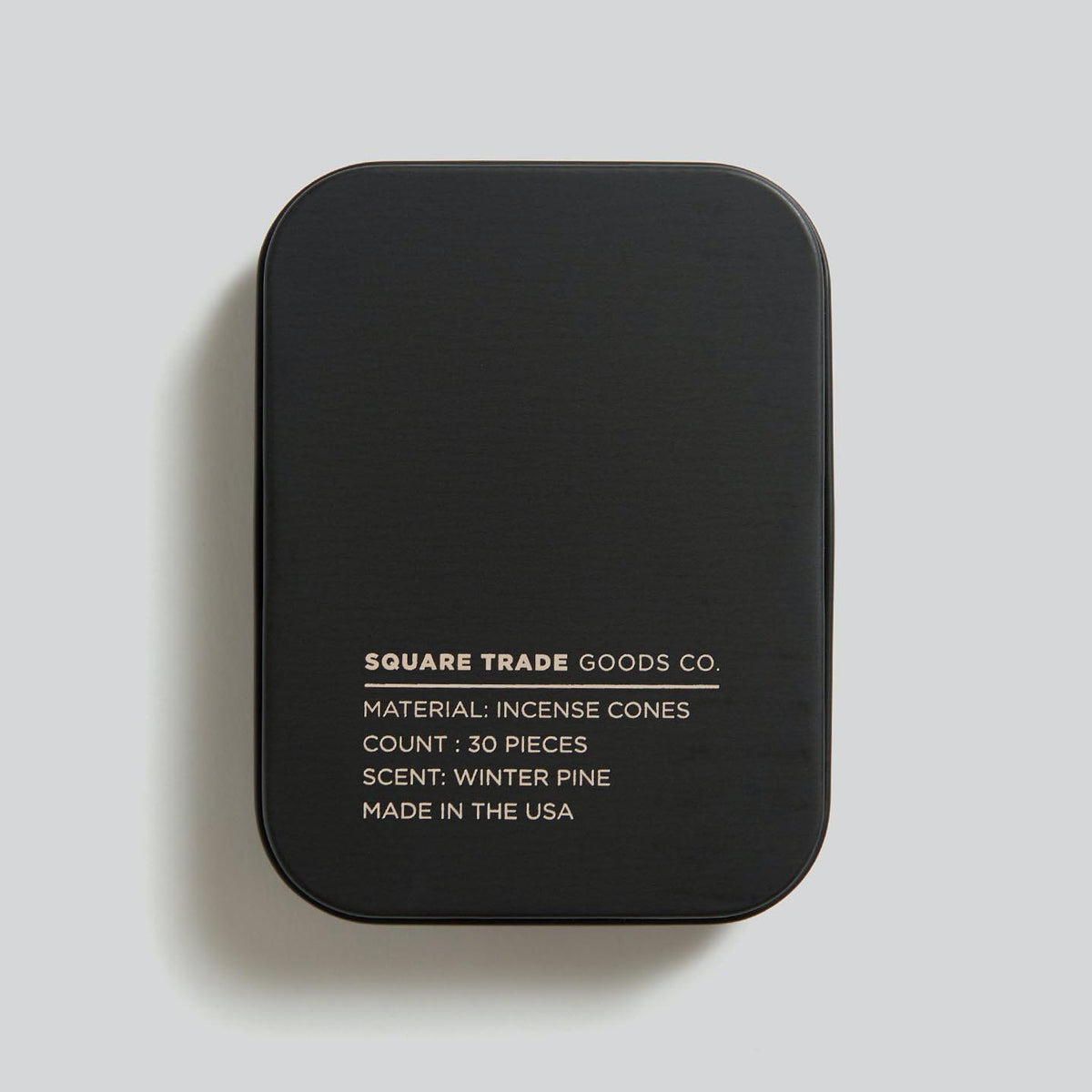 Square Trade Goods Co. Incense Cones Winter Pine