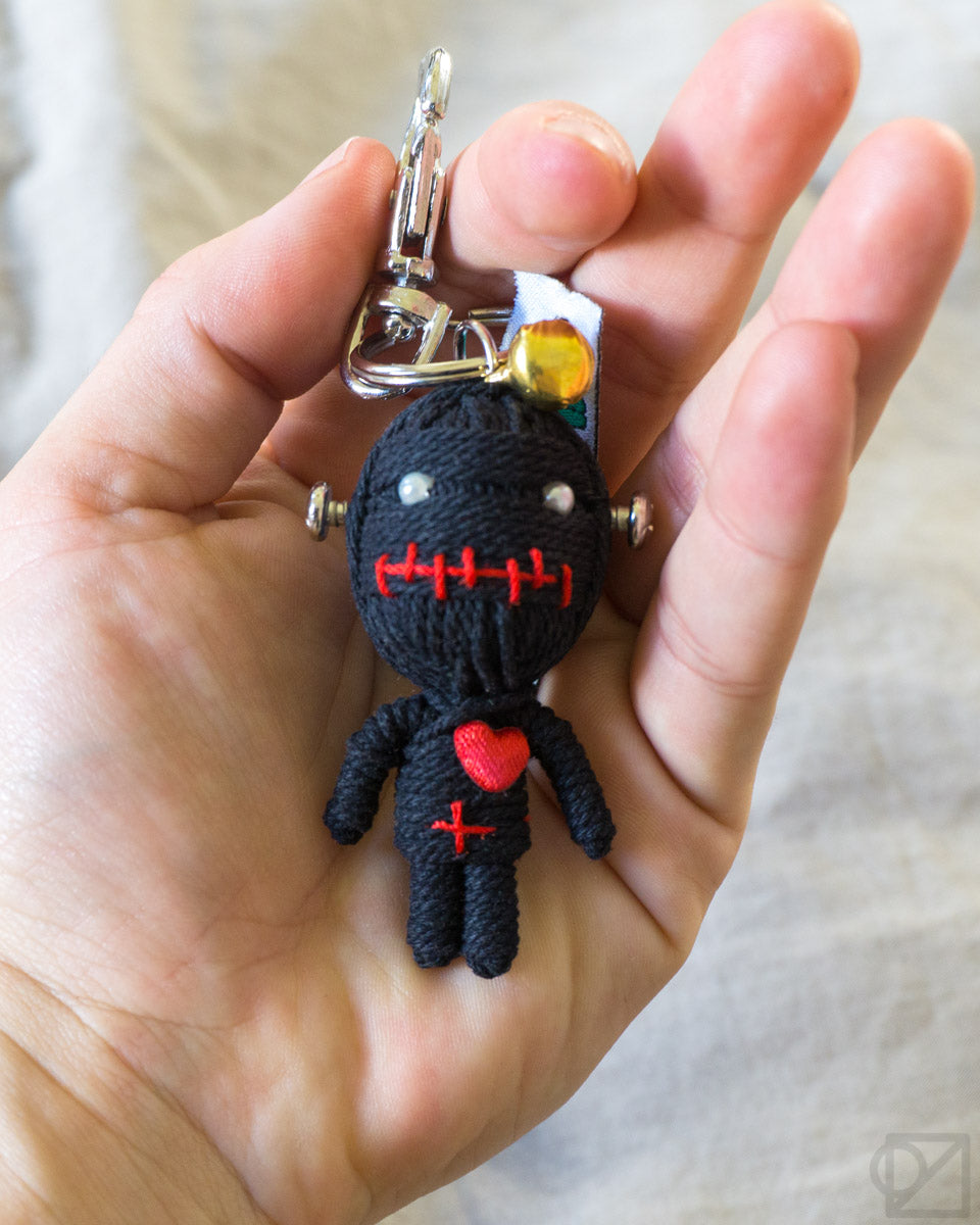 String Doll Gang Monster Man Keychain