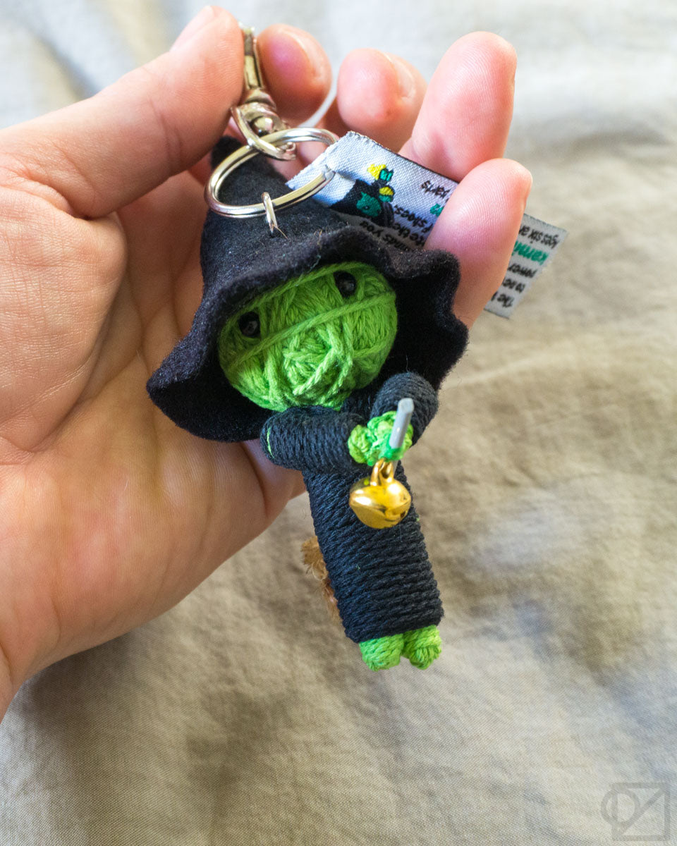 String Doll Gang Wicked Witch Keychain