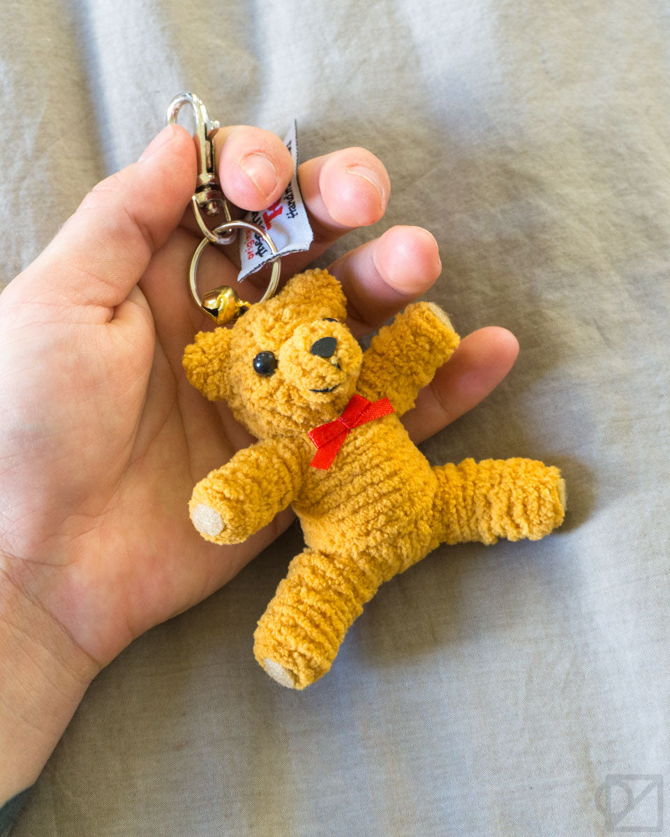 String Doll Gang Teddy Keychain