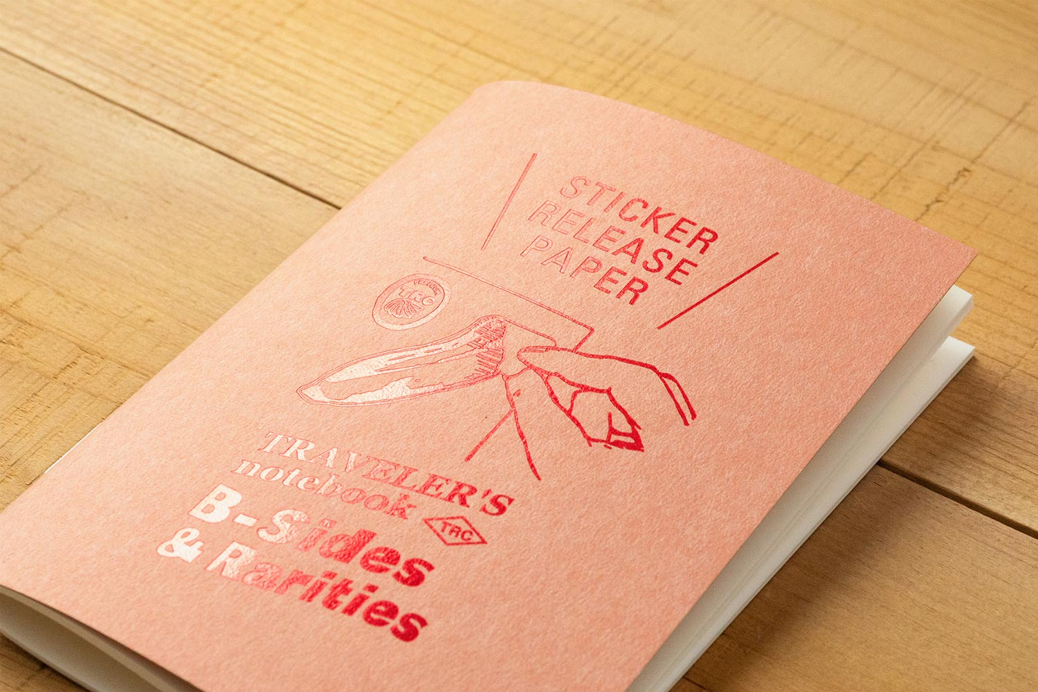 TRAVELER'S B-Sides & Rarities PASSPORT Sticker Release Paper Notebook