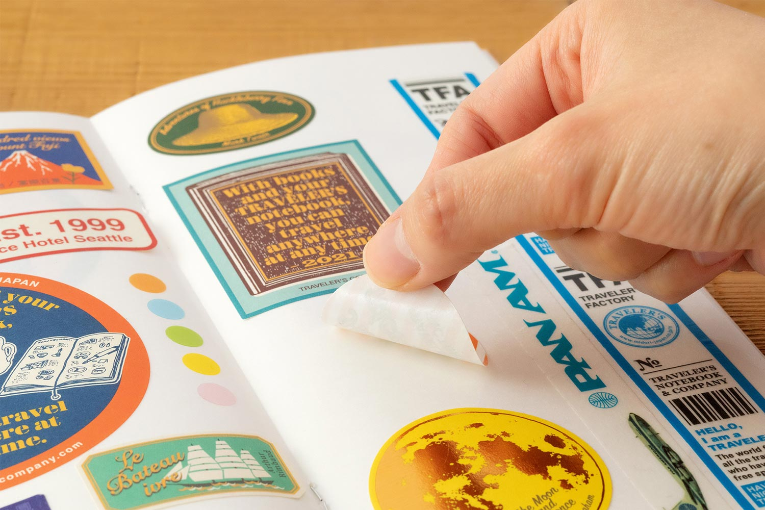 TRAVELER'S B-Sides & Rarities Sticker Release Paper Notebook
