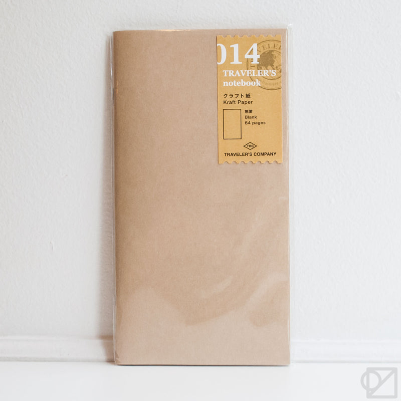 TRAVELER'S Company 014 Kraft Paper Notebook