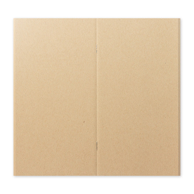 TRAVELER'S Company 014 Kraft Paper Notebook Refill