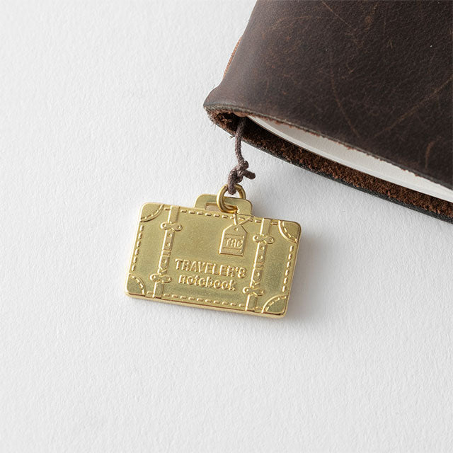 TRAVELER'S Company Travel Tools Brass Charm