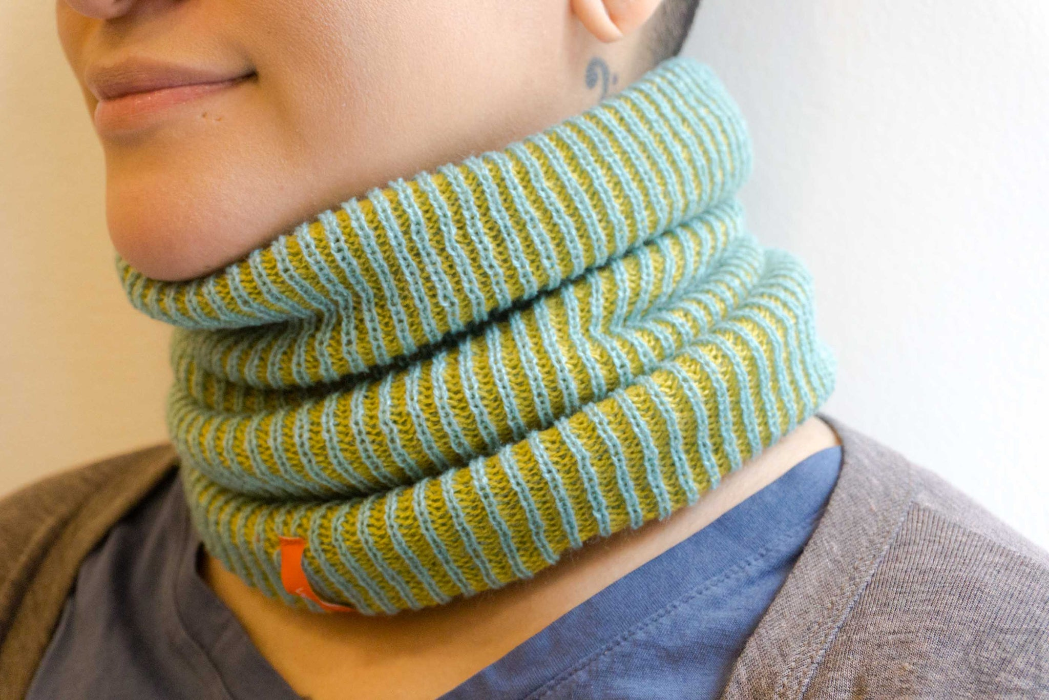 Simple Rib Neckwarmer