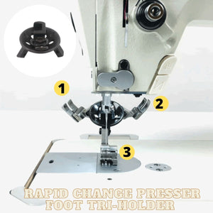 [PROMO 30% OFF] Rapid Change Presser Foot Tri-holder