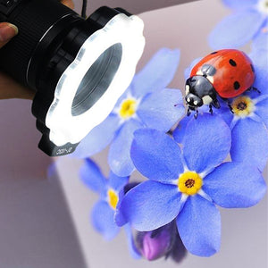 Portable LED Macro Ring Light