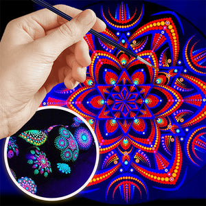 Glowing Mandala Dotting Kit