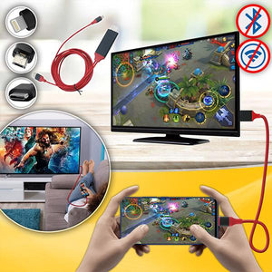 Plug & Play Phone-to-TV HDMI Cable