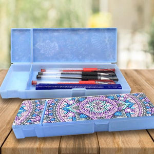 Diamond Painted Pencil Case