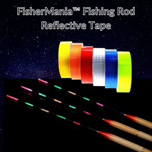 FisherMania™ Fishing Rod Reflective Tape