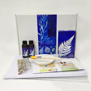 DIY Cyanotype Painting Kit