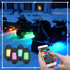 SkiGlo™ Snowmobile Underglow Light Kit