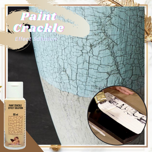 Paint Crackle Effect Solution