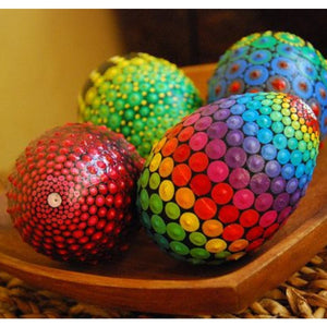 [PROMO 30% OFF] Easter Egg Mandala Dotting Kit