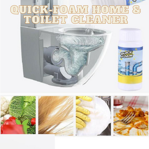 [PROMO 30% OFF] Quick-Foam Home & Toilet Cleaner