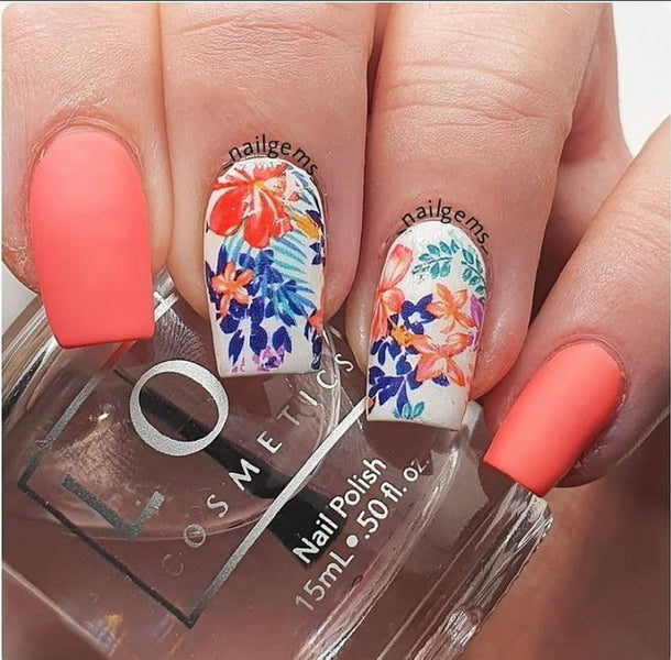 Floral Nail Designs That'll Wow You!