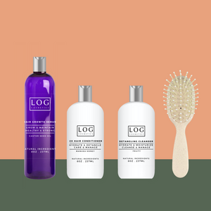 The Gentle Starter- Hydration for All Hair types x Natural Line Brush