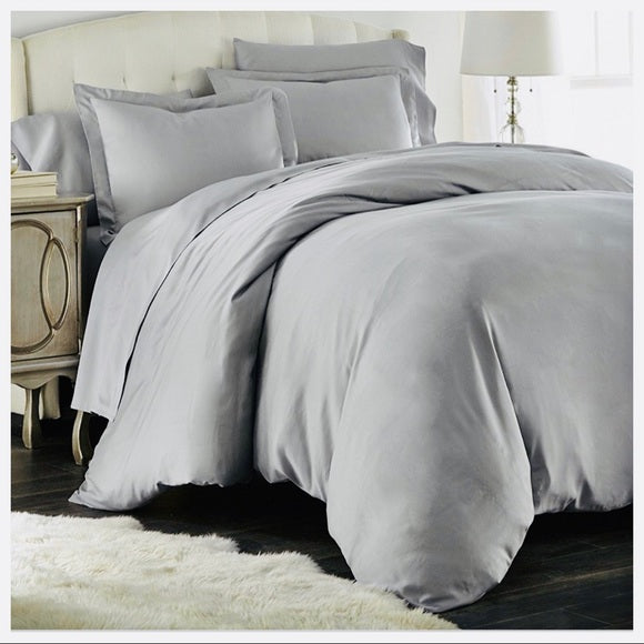 3 PIECE SOFT 1800 COUNT FIBER DUVET COVER SET - Shop Evelyne