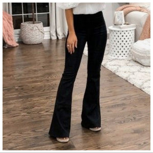 BLACK CHIC BEST SELLING BELL FLARE PANTS - Shop Evelyne