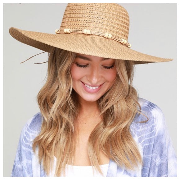 BOHO CHIC DETAIL STRAW HAT - Shop Evelyne