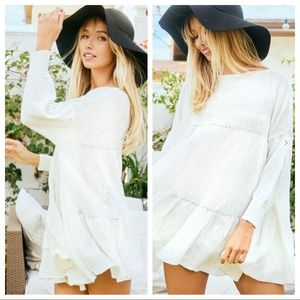 Boho fabulous Tiered Tunic top