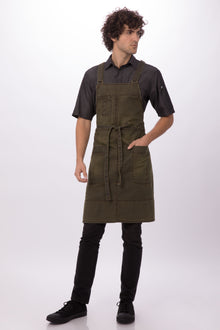 Warren Cross-Back Bib Apron