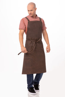 Denver Chefs Cross-Back Bib Apron