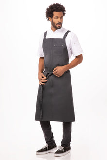 Galveston Chefs Cross-Back Bib Apron