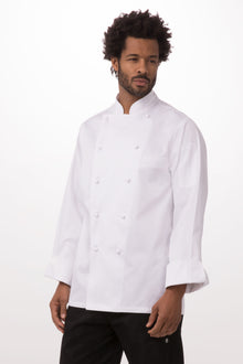 Madrid Premium Cotton Chef Coat