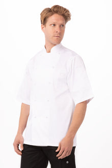 Capri Premium Cotton Chef Coat