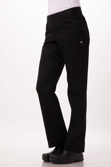 Women's Lightweight Slim Chef Pants