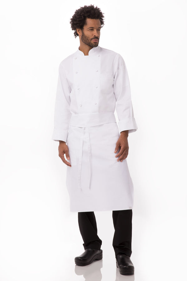 Tapered Apron with Pocket