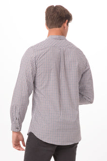 Modern Gingham Long Sleeve Shirt