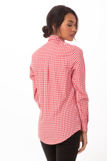 Gingham Women's Dress Shirt
