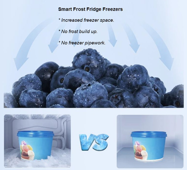 Compact Smart Frost Thor Fridge Freezer T65514MSFX