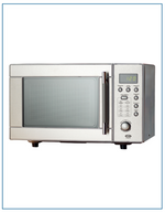 Load image into Gallery viewer, T22820MDSS Thor Appliances Digital Microwave 800W Stainless Steel