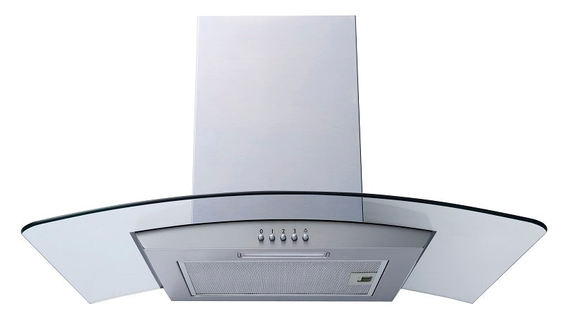 T21350XBSS Thor 60cm Curved Glass Cooker Hood